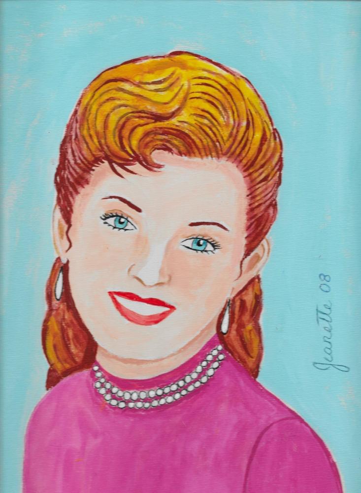 Debbie Reynolds par Jeanette